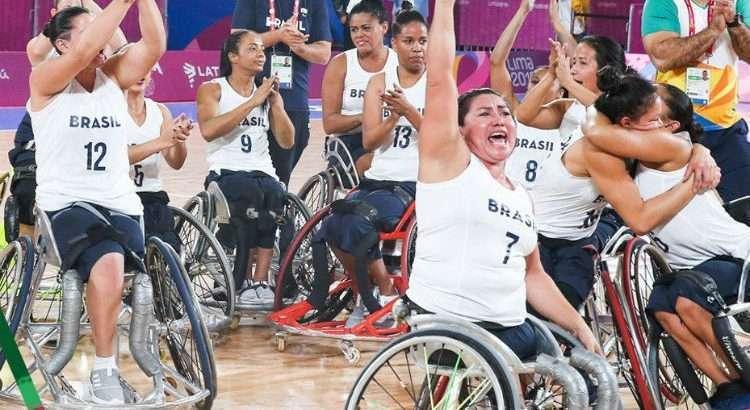 Basquete em cadeira de rodas feminino conseguiu o bronze (Foto: Alexandra Schneider/CPB)
