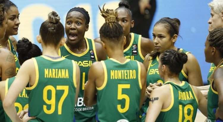 Brasil venceu três partidas e perdeu uma (Foto: Divulgação/Fiba)