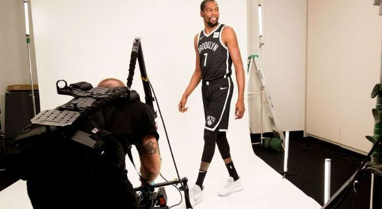 Brooklyn Nets adquiriu o ala Kevin Durant para a temporada 2019/2020 (Divulgação/Brooklyn Nets)