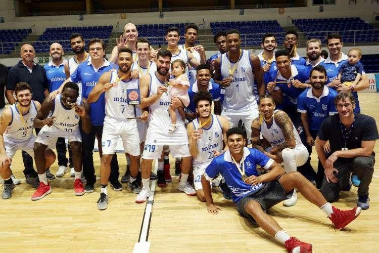 Minas foi o campeão estadual em 2018 (Foto: Orlando Bento/Minas)