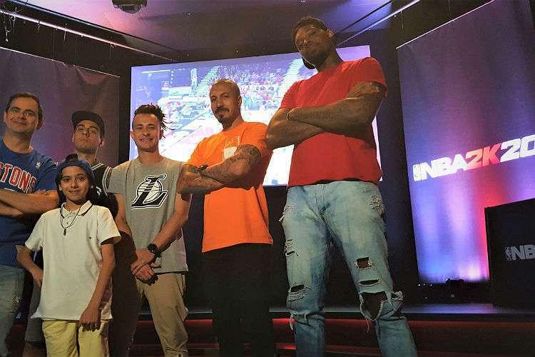 Evento teve a presença de nomes conhecidos da mídia (Foto: Divulgação/NBA)