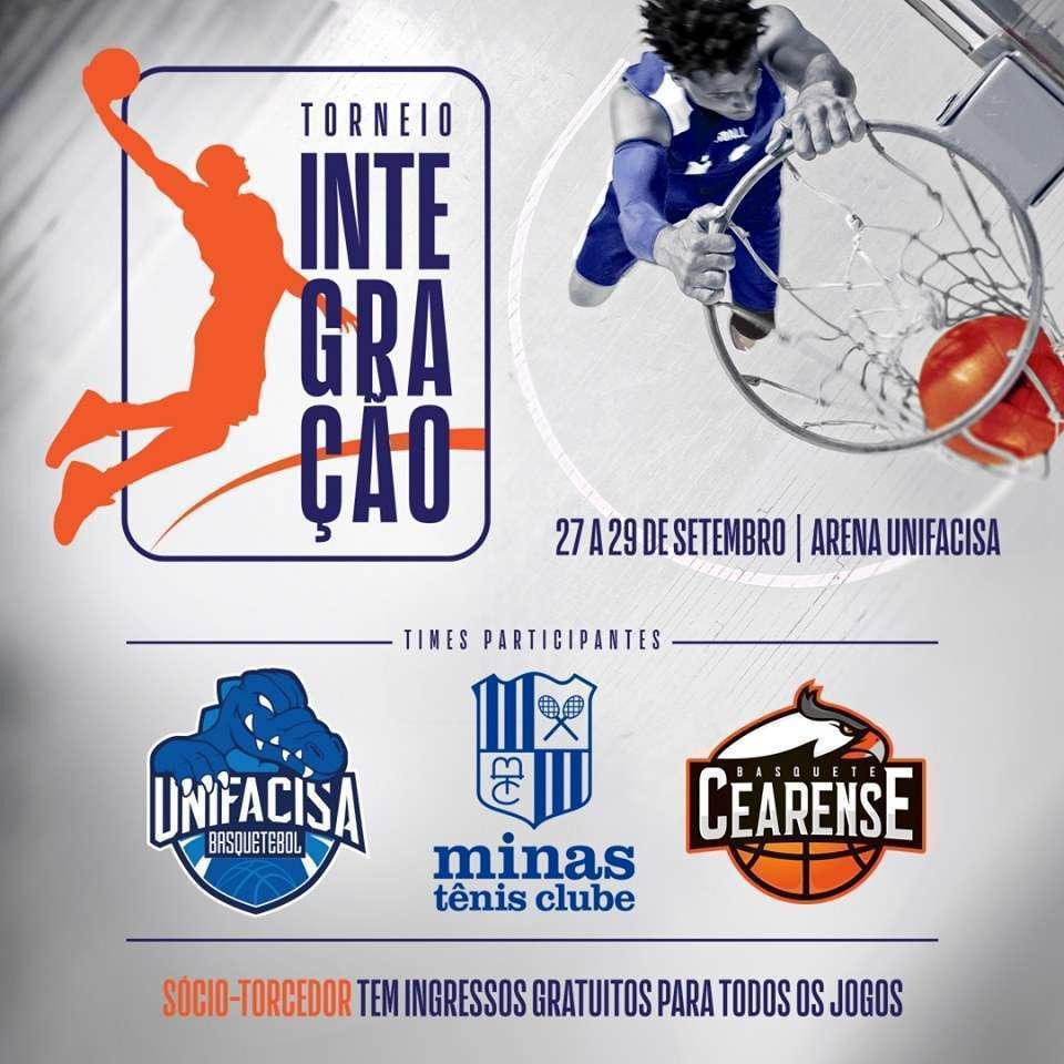Arte oficial do Torneio Integração (Divulgação/Unifacisa)