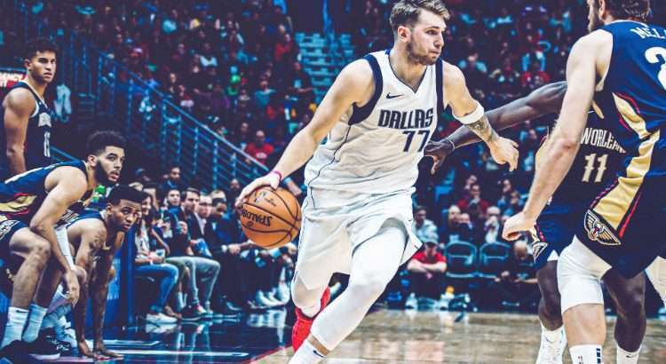 Ala esloveno Luka Doncic é o destaque do Dallas Mavericks (Foto: Divulgação/Dallas Mavericks)