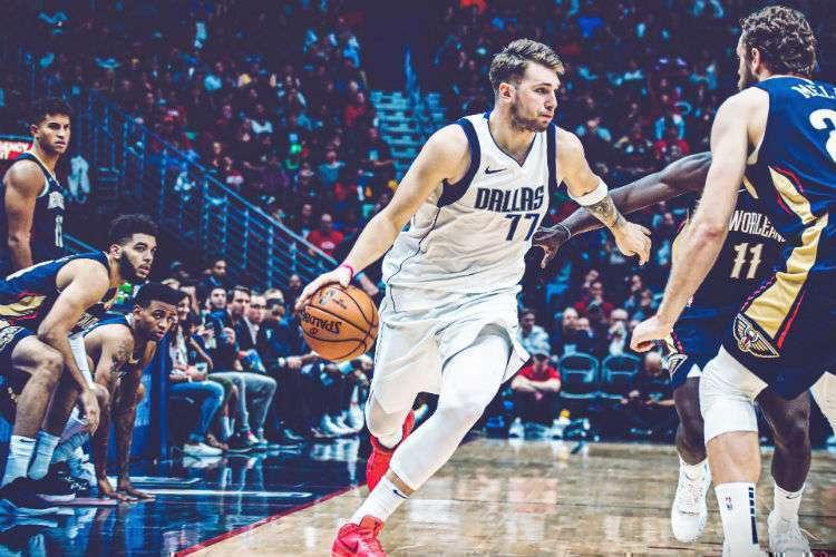 Ala esloveno Luka Doncic é o destaque do Dallas Mavericks (Foto: Divulgação/Dallas Mavericks)