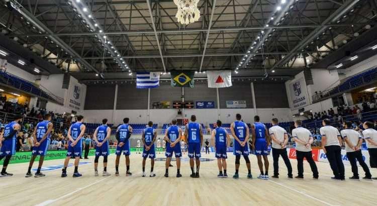Equipes se enfrentam na Arena Minas Tênis Clube, em BH (Foto: Uarlen Valério/Minas)