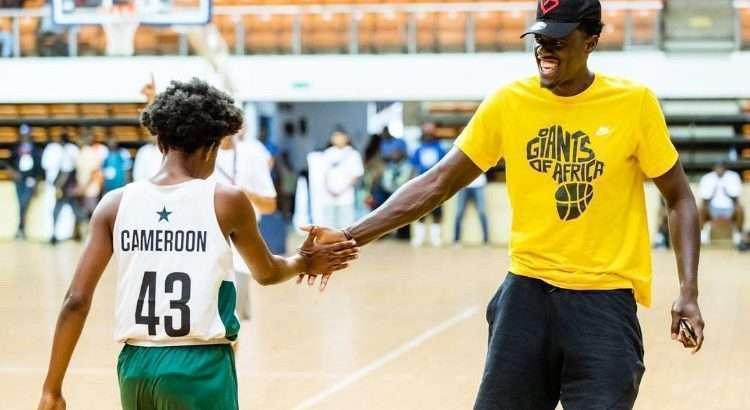 Siakam também atuam em camps da NBA na África (Foto: Twitter pascal siakam @pskills43)