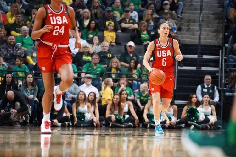 Brasil enfrentará os Estados Unidos, de Sue Bird (Foto: Divulgação/USA Basketball)