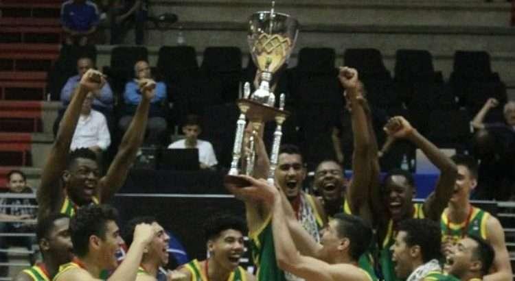 Brasil teve 100% de aproveitamento na campanha vitoriosa do Sul-Americano (Foto: Divulgação/Consubasquet)