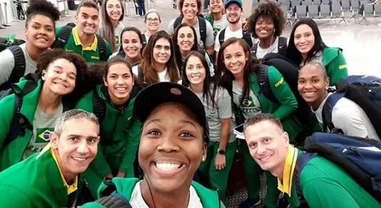 Seleção está em grupo com Estados Unidos, Argentina e Colômbia (Foto: Divulgação/CBB)