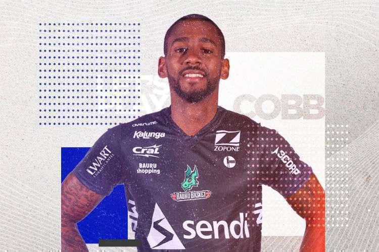 Cobb defenderá o Bauru depois de curta passagem pelo Minas (Foto: Divulgação/Bauru)
