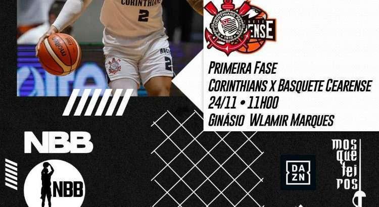 Equipes se enfrentam neste domingo, com transmissão do DAZN (Foto: Divulgação/Corinthians)