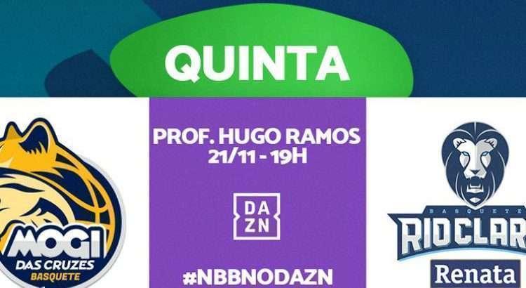 Equipes se enfrentam nesta quinta-feira, com transmissão do DAZN (Foto: Divulgação/NBB)