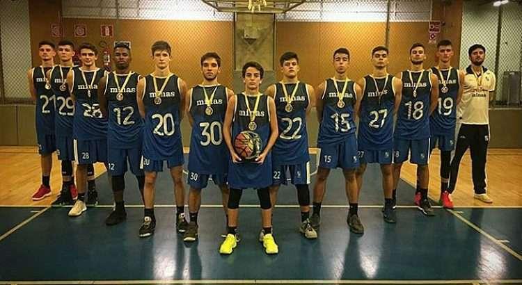 Minas Sub-17 é o campeão estadual deste ano (Foto: Reprodução/Instagram Felipe Freitas)