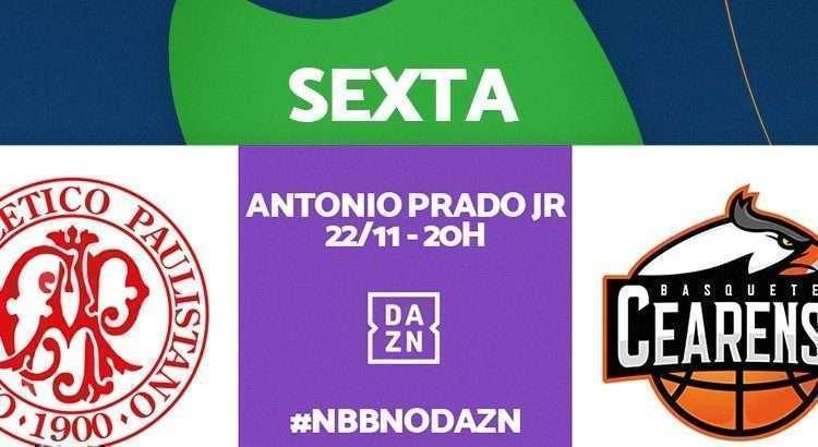 Equipes se enfrentam nesta sexta-feira, com transmissão do DAZN (Foto: Divulgação/NBB)
