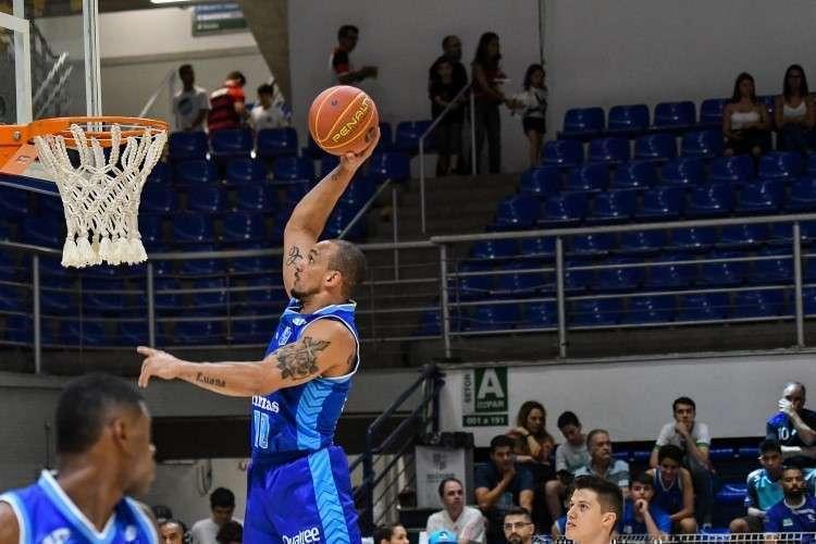 Ala Alex Garcia é um dos principais jogadores do Minas (Foto: Orlando Bento/Minas)