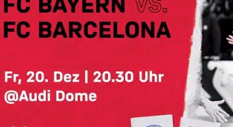 Equipes se enfrentam nesta sexta-feira, com transmissão do DAZN (Foto: Divulgação/Bayern)