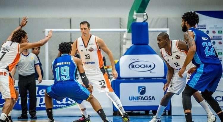 Minas e Cearense se enfrentaram nesta pré-temporada (Foto: Divulgação/Unifacisa)