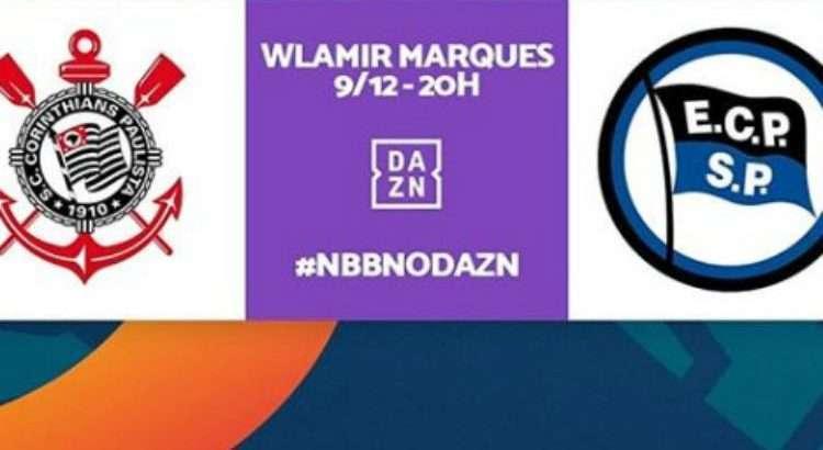 Equipes se enfrentam nesta segunda-feira, com transmissão do DAZN (Foto: Divulgação/NBB)