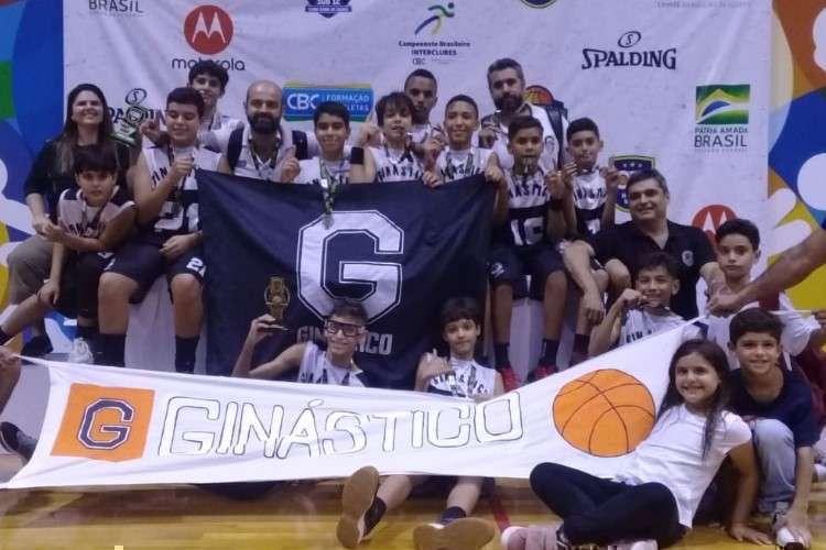 Ginástico bateu o Sport na decisão (Foto: Divulgação/CBB)