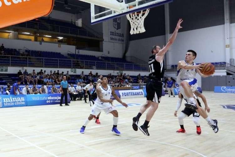 Davi ajudou na vitória com 13 pontos (Foto: Orlando Bento/Minas)