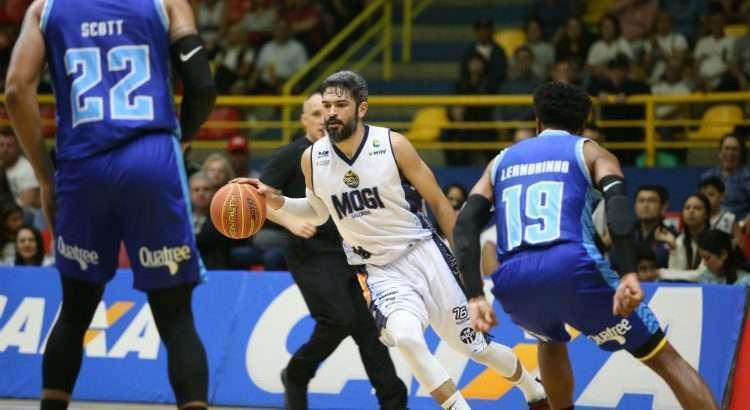 André Góes ficou a uma assistência do triplo-duplo contra o Minas (Foto: Antonio Penedo/Mogi)