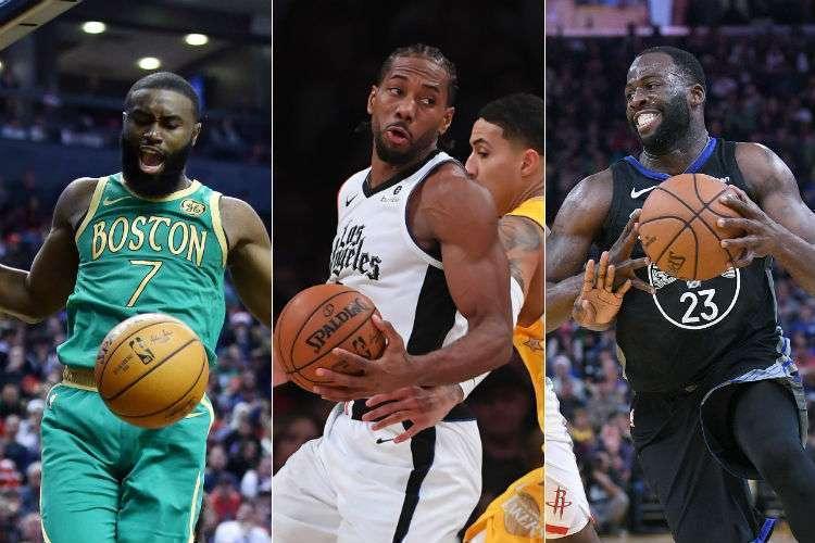 Natal da NBA surpreendeu pelos resultados (Fotos: Vaughn Ridley, Jayne Kamin-Oncea e Thearon W. Henderson/AFP)