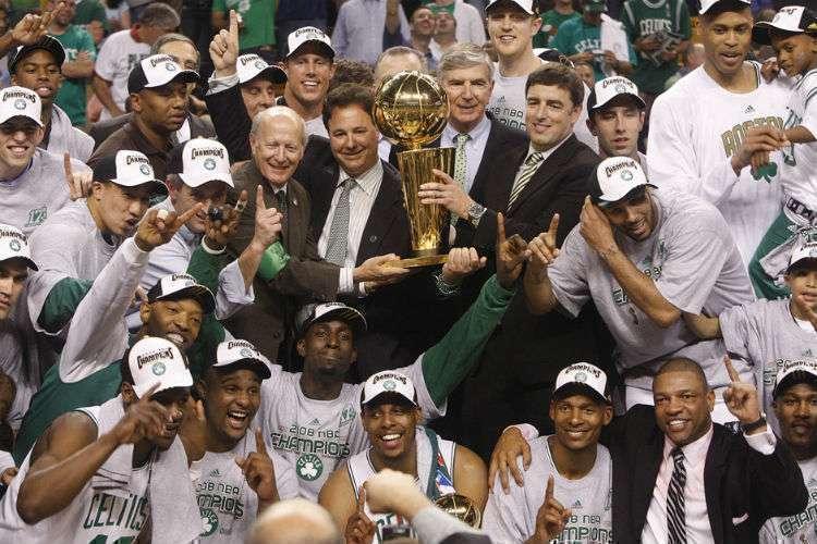 Celtics é a equipe mais vencedora da NBA ao total e também em anos olímpicos (Foto: Barry Chin/Globe Staff)