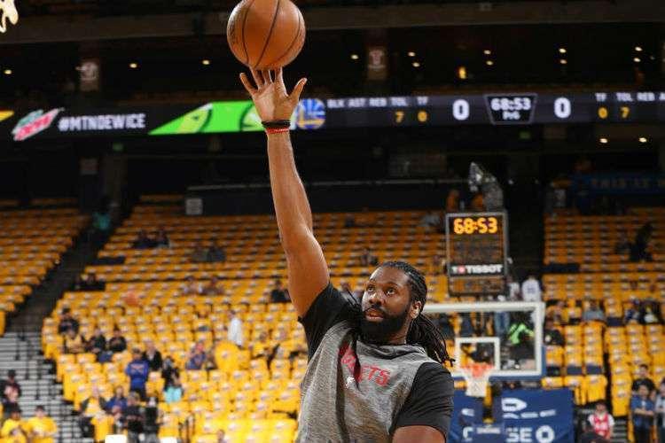 Nenê, com 965 jogos de NBA na carreira, ainda não atuou na atual temporada da liga norte-americana (Foto: Divulgação/Houston Rockets)