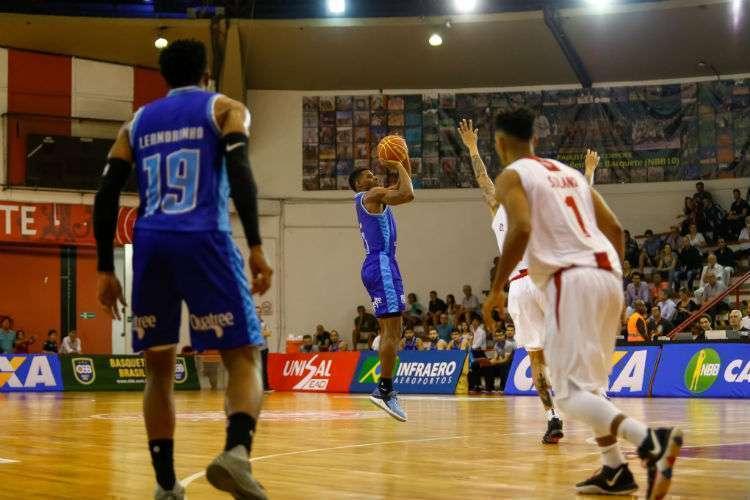 Minas, que beira o G4 do NBB, foi superado pelo Paulistano na partida do turno (Foto: Guilherme Silva/Paulistano)