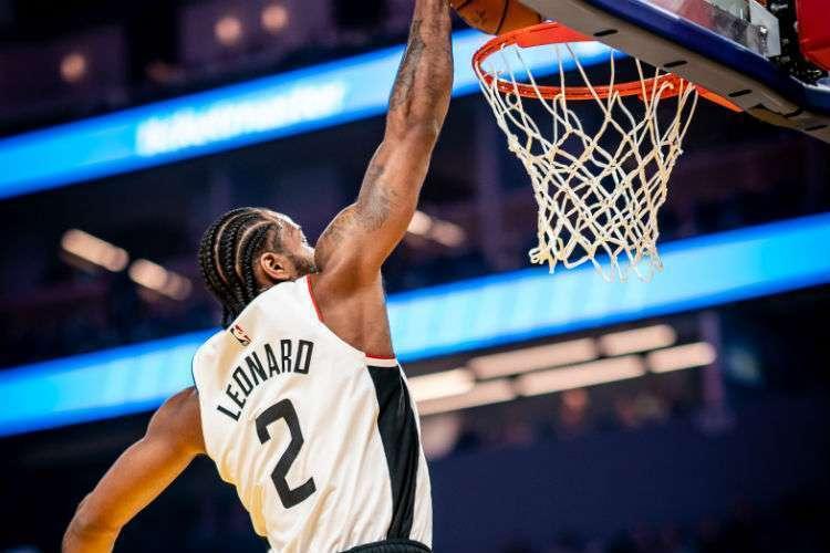Ala Kawhi Leonard é uma das estrelas do Clippers (Foto: Divulgação/Los Angeles Clippers)
