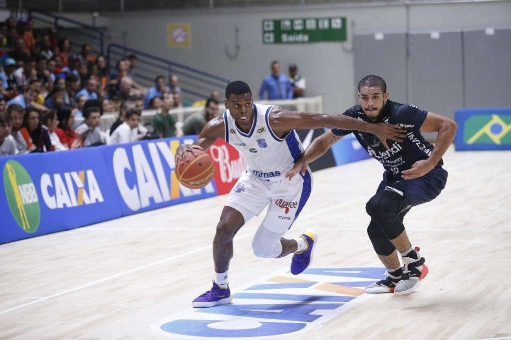 Gui Deodato anotou 20 pontos na vitória sobre o Bauru no primeiro turno deste NBB (Foto: Orlando Bento/Minas)