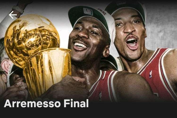 Série conta a história de Michael Jordan no Chicago Bulls e detalha a temporada 1997/1998, a última dele com a camisa do Chicago (Foto: Reprodução/Netflix)
