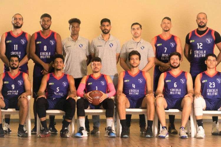 Equipe montada pelo Círculo Militar Basketball (Foto: Divulgação/Círculo Militar)