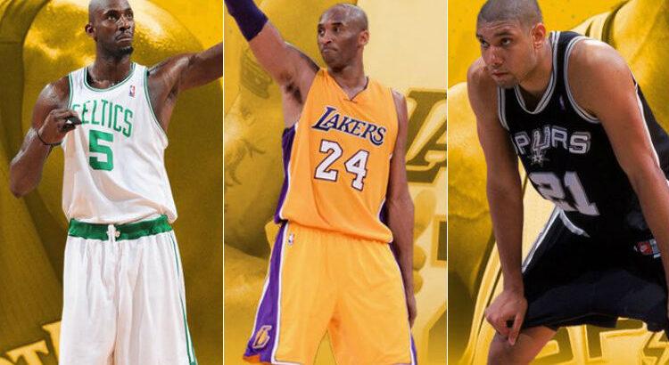Garnett, Bryant e Duncan marcaram época na NBA (Foto: Divulgação/Naismith Memorial Basketball Hall of Fame)