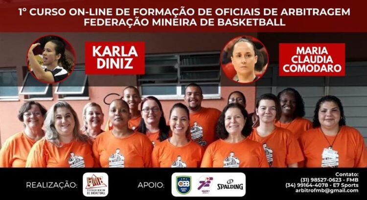 Curso formará oficias de arbitragem, que optam pela atuação em quadra ou como mesário (Foto: Divulgação/FMB)