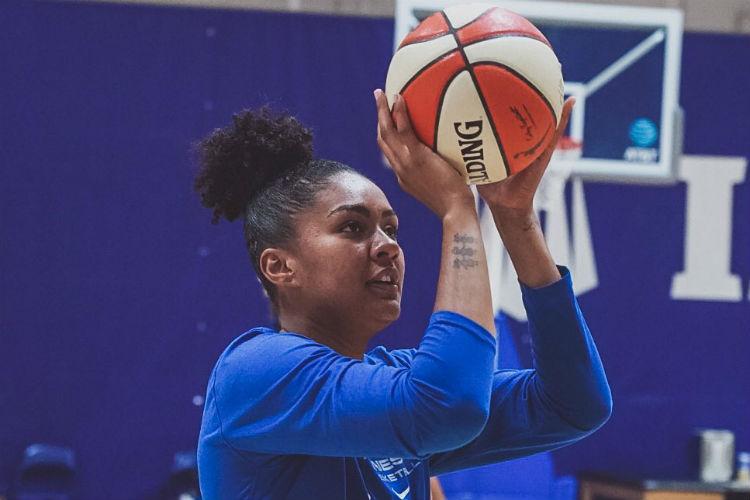 Damiris fez 141 partidas na WNBA, sendo 125 pelo Lynx (Foto: Divulgação/Minnesota Lynx)