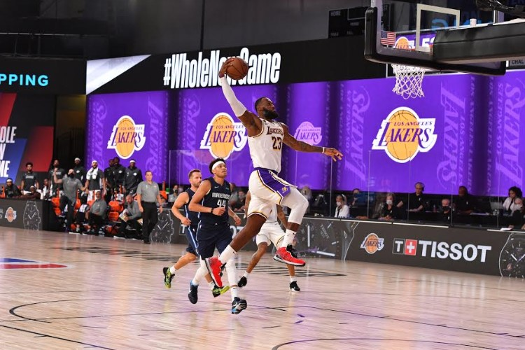 Ala do Lakers, LeBron James tentará o quarto título na carreira e o 17º para a franquia (Foto: Jesse D. Garrabrant/Los Angeles Lakers)