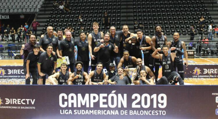 Botafogo se sagrou campeão da Liga Sul-Americana 2019 (Foto: Rodrigo Lopes/Consubasquet)