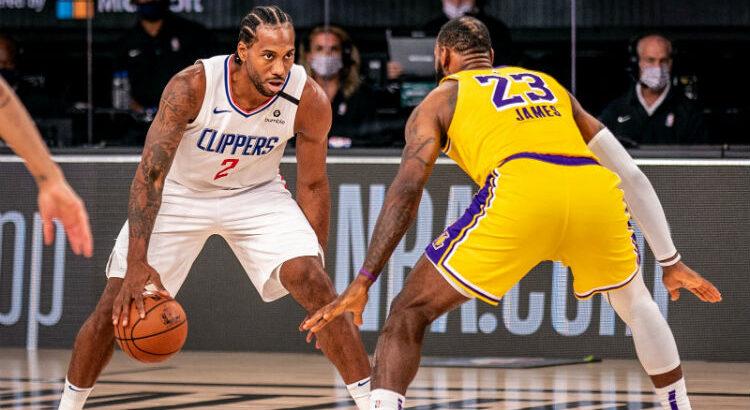 Clippers, de Kawhi Leonard, e Lakers, de LeBron James, tiveram as melhores campanhas da Conferência Oeste (Foto: Divulgação/Los Angeles Clippers)