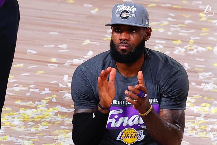 LeBron tentará o quarto título de NBA (Foto: Divulgação/Los Angeles Lakers)