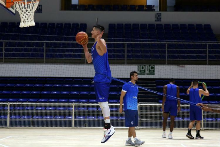 Expectativas em torno de Gui Carvalho, jovem do Minas, são grande (Foto: Orlando Bento/Minas)