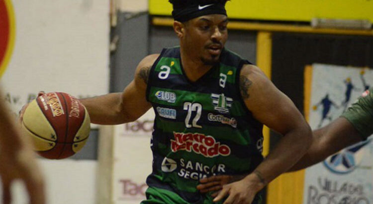 Shaquille Johnson atuou no Urunday Universitario na última temporada (Foto: Divulgação/Urunday Universitario)