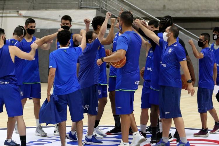 Minas iniciou preparação de treinos em 28 de setembro (Foto: Orlando Bento/Minas)