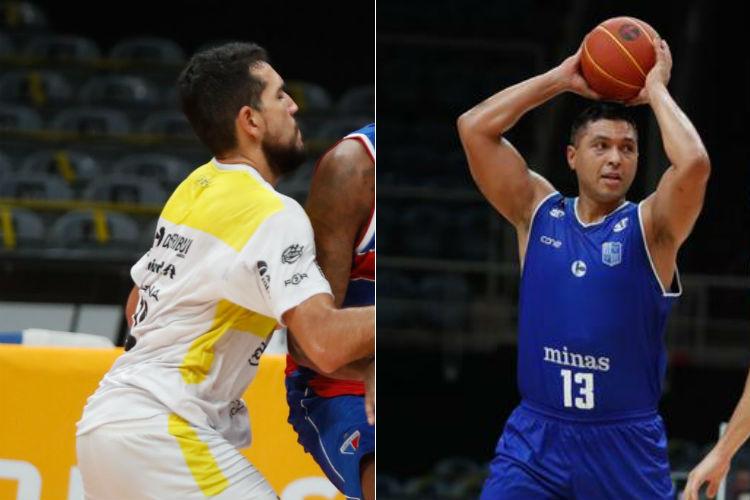 Campo Mourão e Minas tentam a segunda vitória seguida no NBB (Fotos: Gilvan de Souza/LNB)