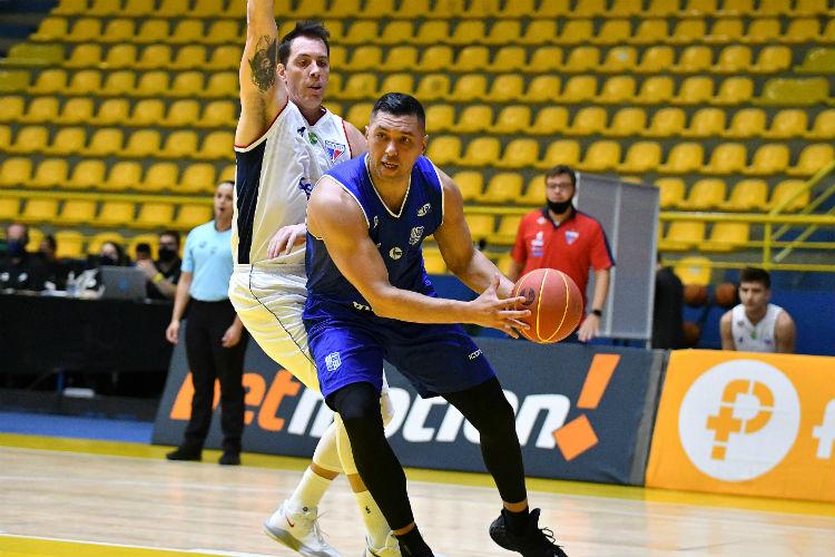 JP Batista, do Minas, foi um dos destaques da partida (Foto: João Pires/LNB)