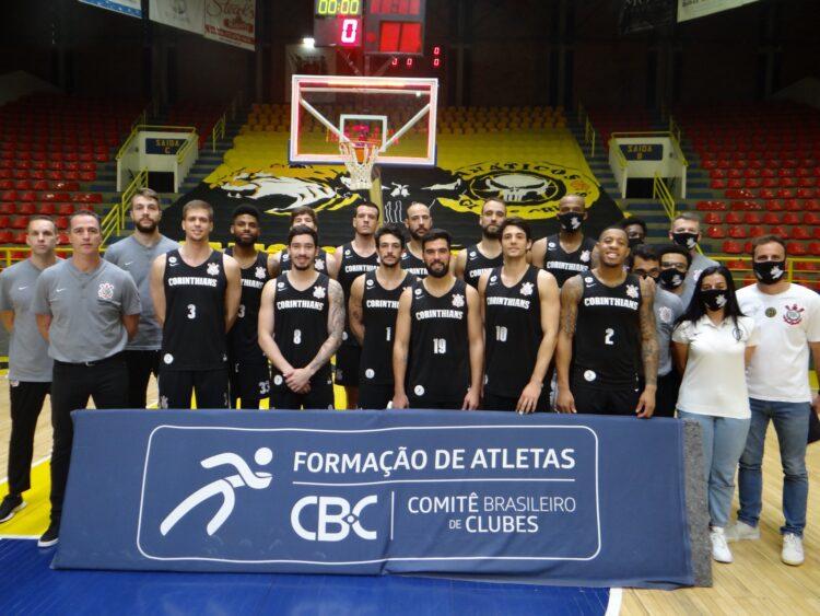Corinthians não entrará em quadra e perderá por W.O (Foto: Reprodução/Twitter Corinthians Basquete)