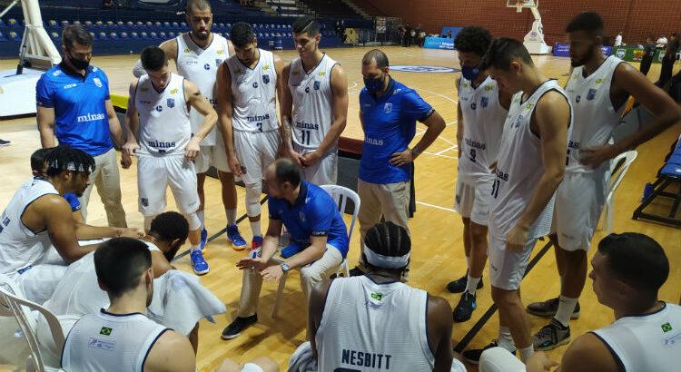 Minas tenta a 11ª vitória seguida no NBB (Foto: Divulgação/Minas)