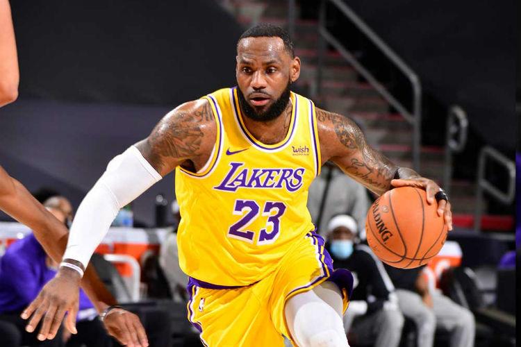 Tetracampeão da NBA, LeBron James, do Los Angeles Lakers, foi o melhor jogador da última final da NBA (Foto: Barry Gossage/NBA E)