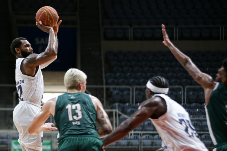David Jackson contribuiu com 12 pontos na vitória do Minas (Foto: Bruno Lorenzo/NBB)