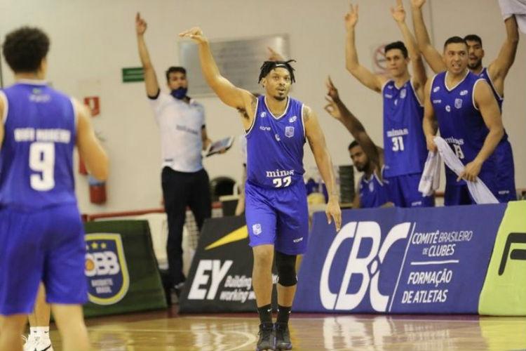 Minas tem uma derrota em 14 partidas no NBB (Foto: Foto Atleta/NBB)